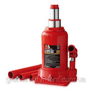 Домкрат пляшковий низькопрофільний двухштоковый 4т 160-390 мм TORIN TF0402