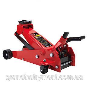 Домкрат підкатний професійний 3,5 т з педаллю 145-500 мм TORIN T83502