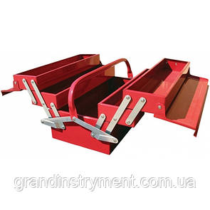 Ящик для инструмента  5 секций  495(L)x200(W)x290(H)mm   TORIN  TBC122B
