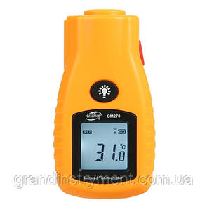 Безконтактний інфрачервоний термометр (пірометр) -32-280°C, 8:1, EMS=0,95 BENETECH GM270