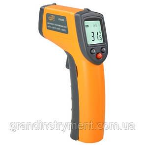 Безконтактний інфрачервоний термометр (пірометр) -50-380°C, 12:1, EMS=0,95 BENETECH GM320