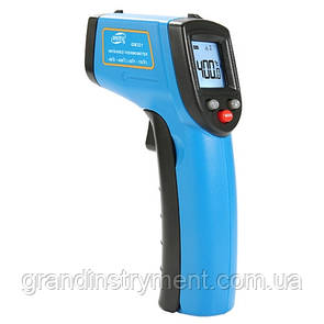 Бесконтактный инфракрасный термометр (пирометр)  -50-400°C, 12:1, EMS=0,1-0,95  BENETECH GM321