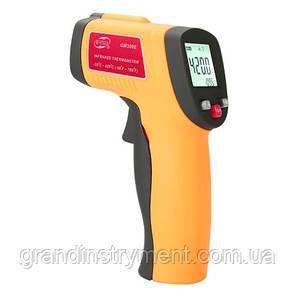 Безконтактний інфрачервоний термометр (пірометр) -50-420°C, 12:1, EMS=0,1-1 BENETECH GM300E
