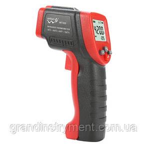 Безконтактний інфрачервоний термометр (пірометр) -50-420°C, 12:1, EMS=0,1-1 WINTACT WT300