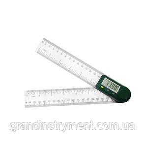 Цифровой угломер с линейкой  200 мм PROTESTER 5423-200