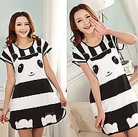 Домашнє плаття з принтом ANNA (46 розмір, розмір M )