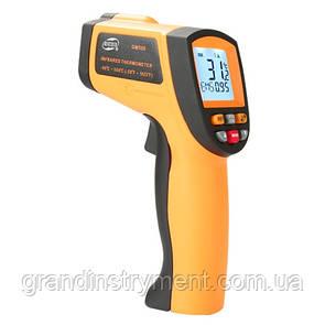 Бесконтактный инфракрасный термометр (пирометр)  -50-550°C, 12:1, EMS=0,1-1  BENETECH GM500