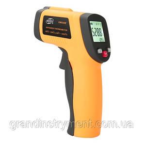 Безконтактний інфрачервоний термометр (пірометр) -50-550°C, 12:1, EMS=0,1-1 BENETECH GM550E
