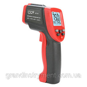 Безконтактний інфрачервоний термометр (пірометр) -50-750°C, 12:1, EMS=0,1-1 WINTACT WT700