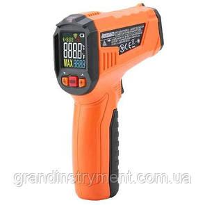 Безконтактний інфрачервоний термометр (пірометр) -50-380°C, 12:1, EMS=0,1-1,0 PROTESTER PM6519A