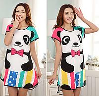 Домашнє плаття з принтом ANNA (40 розмір, розмір S )