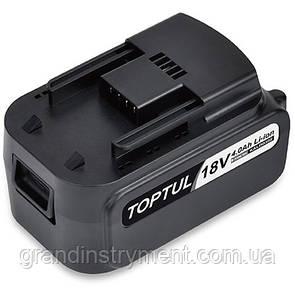 Аккумулятор 18V TOPTUL KALD0302E