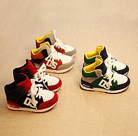 Модні кросовки для хлопчиків - РОЗМІР 26, 16 СМ , КОЛІР ЧЕРВОНИЙ