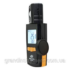 Измеритель уровня освещенности (Люксметр)+термометр, USB  BENETECH GM1020
