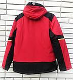 Куртка зимняя спортивная Col TITANIUM р-(48-56)KM-8210  (красный), фото 2