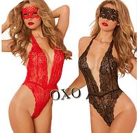 Эротическое белье Сексуальное боди Для ролевых игр Игровой костюм Angelica ( размер М  размер 46 )