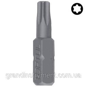 """Насадка 1/4"""" 25мм  TORX T10  TOPTUL FSEA0810"""