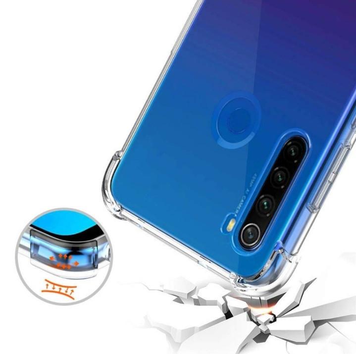 Противоударный прозрачный чехол для  Samsung Galaxy A21/A215