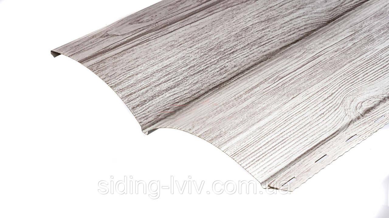 Блок-хаус металевий Біле Дерево ширина 0,23 см