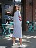 Женское стильное спортивное платье длины миди, фото 3