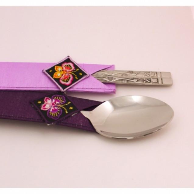 Металлические палочки для еды «Пара»
