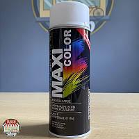 Краска (эмаль) универсальная Maxi Color, 400 мл Аэрозоль Кремово-белый (RAL 9001)