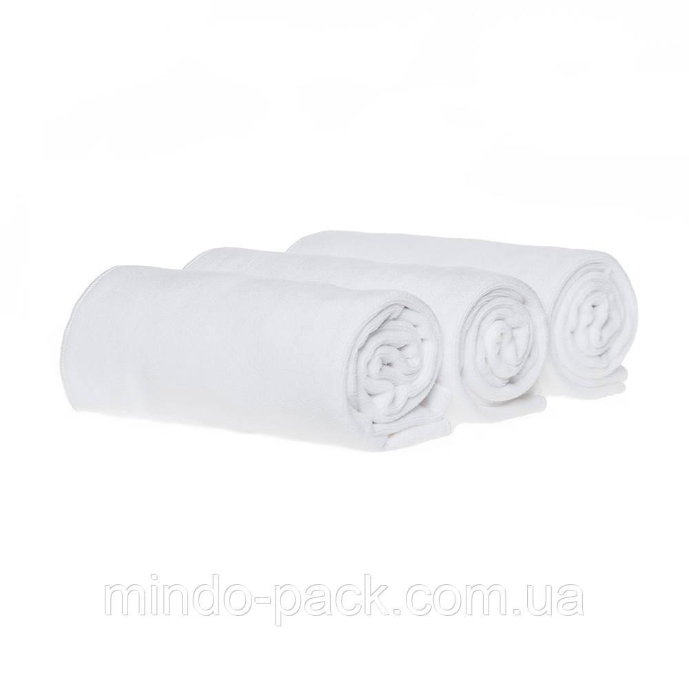 Полотенце 45*95см из микрофибры 400 г/м2 для салонов красоты, белое