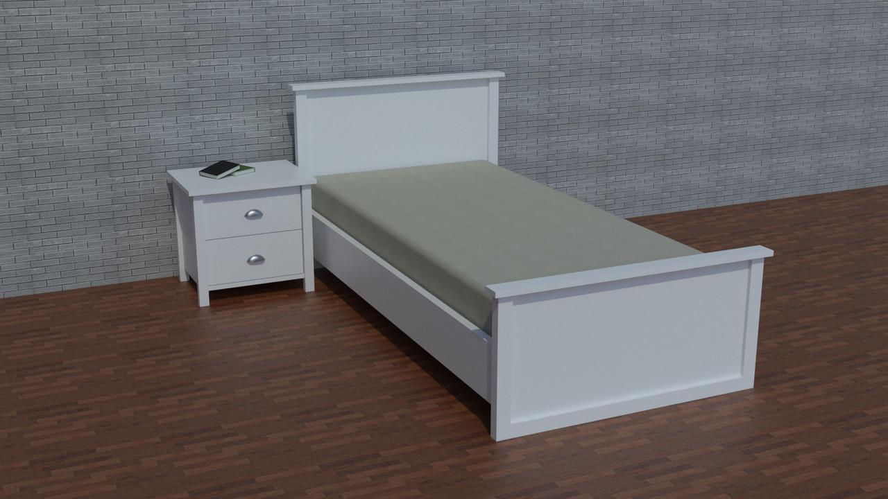 """Деревянная односпальная кровать """"Ричи-4"""" для подростка"""