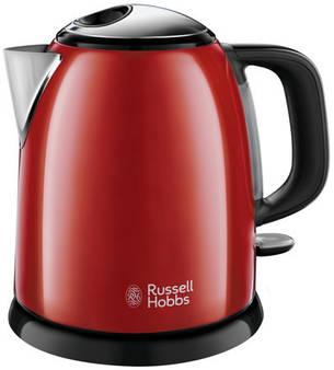 Электрочайник Russell Hobbs 24992-70 Colours Plus Mini 1 л Красный, фото 2