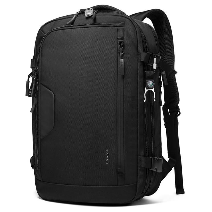 """Большой дорожный рюкзак Bange BG22039, с тремя отделениями, кодовым замком, до 17,3"""", 32-40л"""