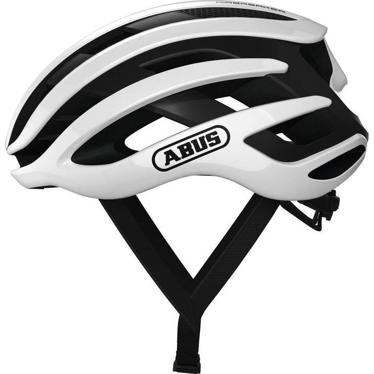 Шолом велосипедний ABUS AIRBREAKER L Polar White, фото 2