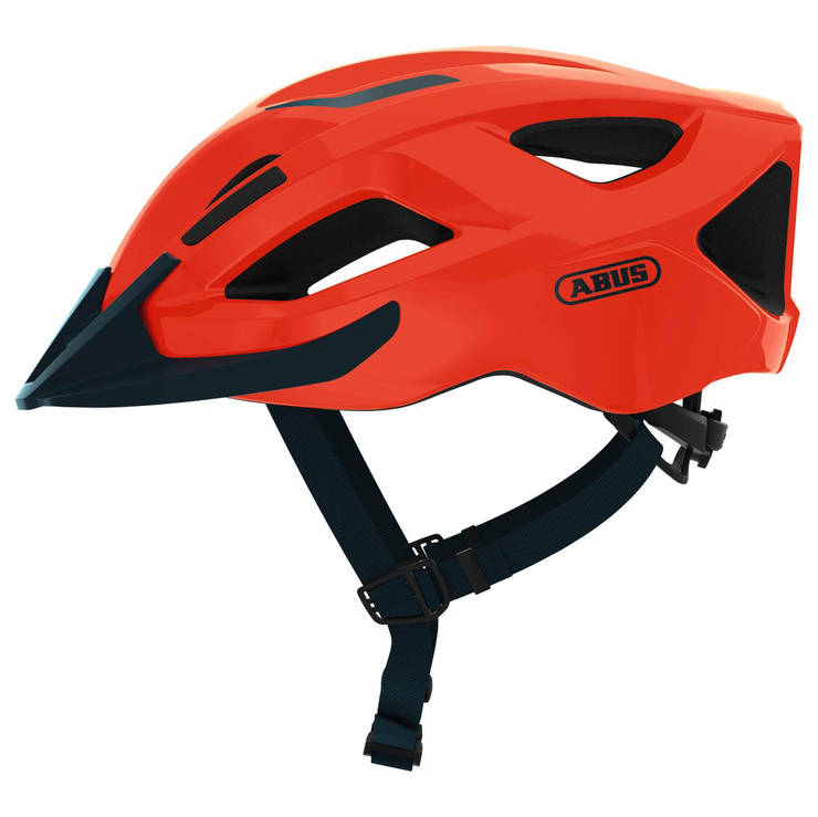 Шолом велосипедний ABUS ADURO 2.1 L Shrimp Orange, фото 2