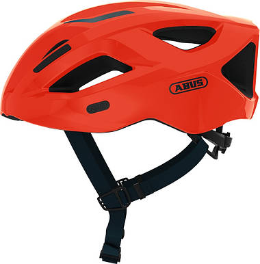 Шолом велосипедний ABUS ADURO 2.1 L Shrimp Orange, фото 3