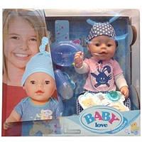 Пупс  Baby Love качественный аналог Baby Born