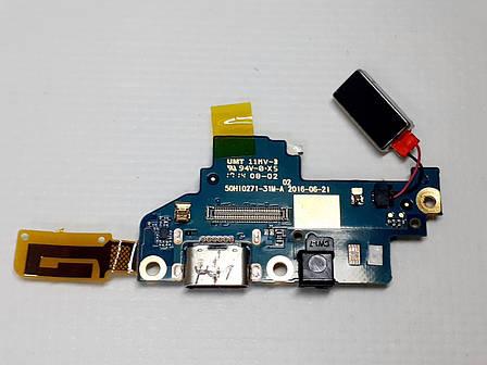 Субплата с разъемом зарядки  Google Pixel 1 , G-2PW4100, G-2P4200 оригинал б.у., фото 2