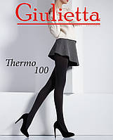 Теплые колготки Giulietta THERMO 100 Без шортиков