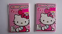Блокнот Hello Kitty Хелоу Китти ,А7 детский ,твердая голограмная обложка,линия.Блокнот дитячий Hello Kitty(Хел
