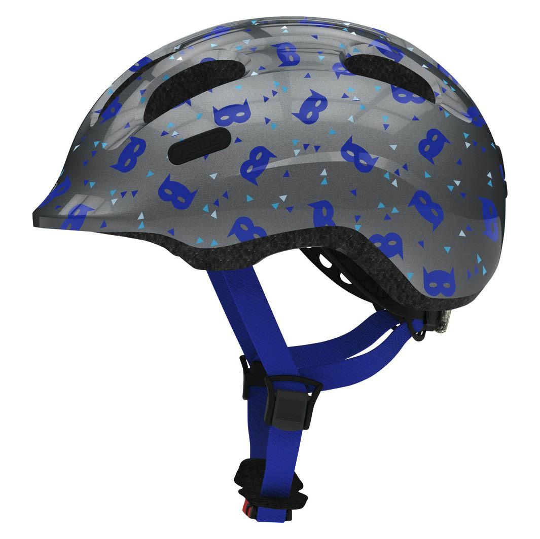 Велосипедний дитячий шолом ABUS SMILEY 2.1 M 50-55 Blue Mask