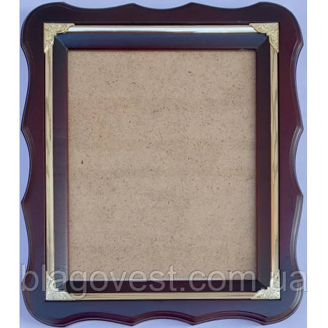Киот А 18х22 фигурная рама без литографии (молдинг)