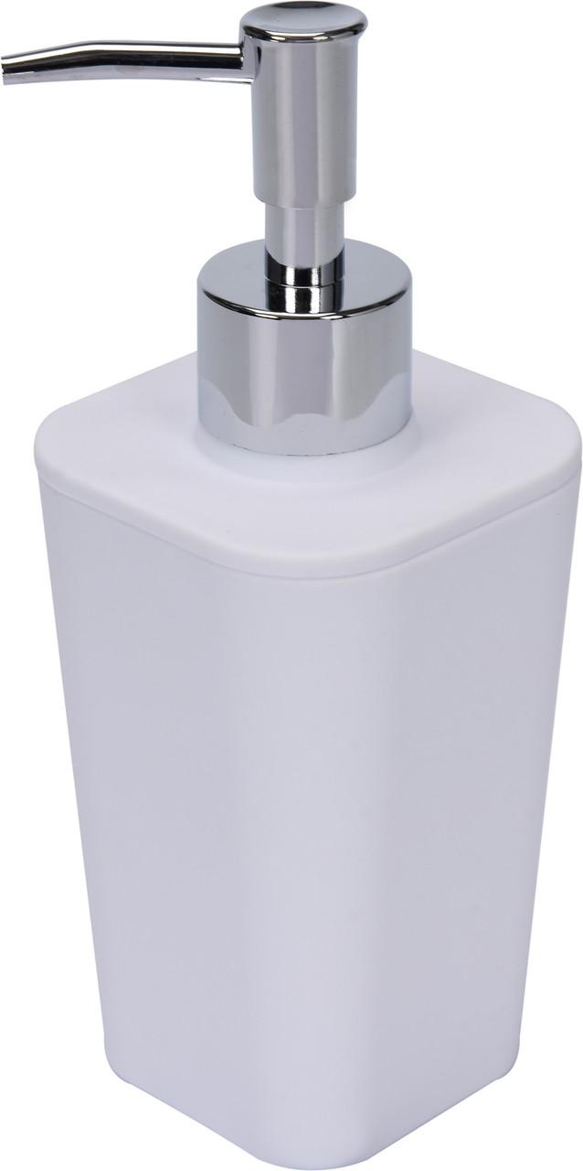 Дозатор для жидкого мыла белый Fala 69340