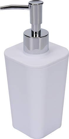 Дозатор для жидкого мыла белый Fala 69340, фото 2