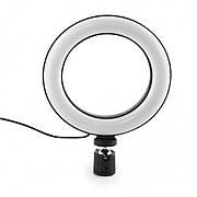 Кільцева LED лампа USB Ring Light діаметр 16см | Управління на проводі