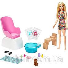 Кукла Барби Набор Салон маникюр и педикюр Barbie Mani-Pedi Spa GHN07