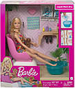 Кукла Барби Набор Салон маникюр и педикюр Barbie Mani-Pedi Spa GHN07, фото 8