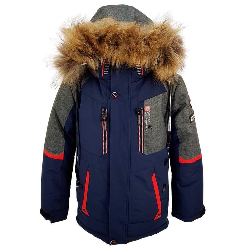Куртка для мальчика зимняя 98-122, А20805, 3 цвета