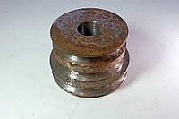 """Шкив двигателя трехручейковый (железный) мотоблока """"Нева"""", фото 1"""