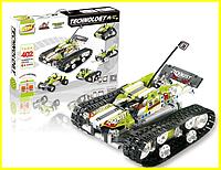 Конструктор на радиоуправлении SDL Tank 402 детали 5 в 1, Детский конструктор лего танк с пультом