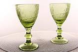 """Бокалы для белого вина 6шт, 225мл """"Дамаск"""" зеленые, фото 2"""