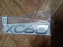 Надпись  XC60   155х30 мм   металл