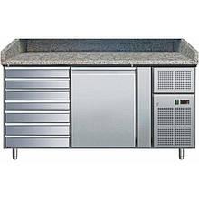 Стол холодильный для пиццы гранитная столешница Rauder SRP Z1610TN